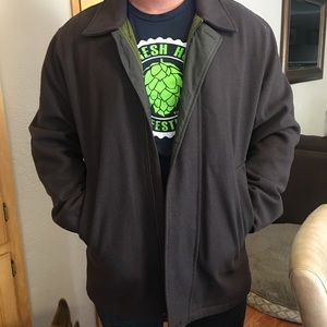 Mens Nautica Wool jacket
